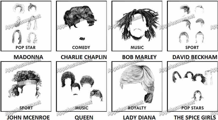 100 Pics Whose Hair 17-24