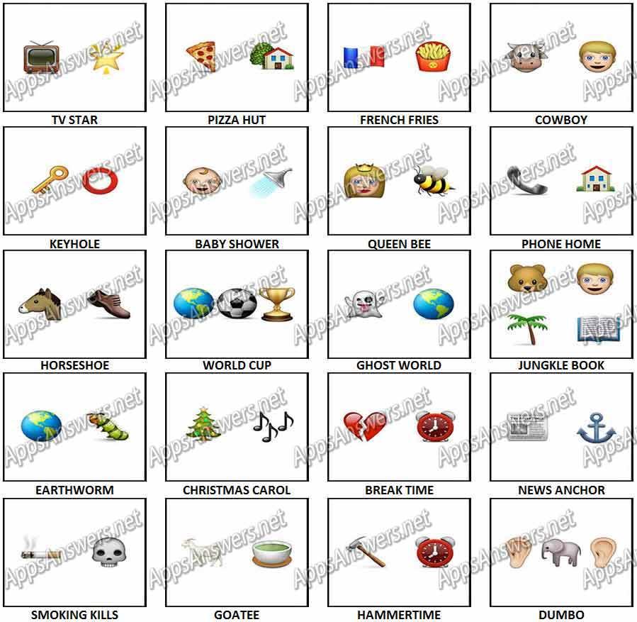100 Pics Christmas Emoji.100 Pics Emoji Quiz 2 Answers Apps Answers Net