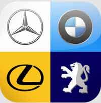 Logo Quiz - Cars By Bubble Quiz Game