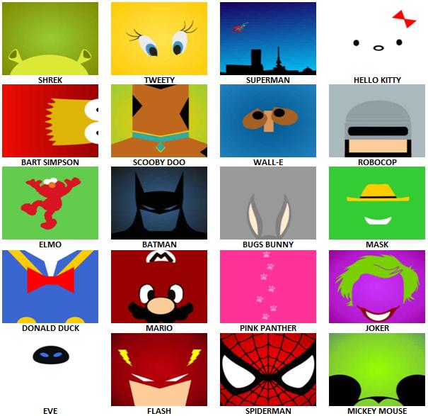 cartoon characters logo quiz answers cartoonankaperlacom