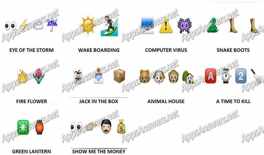 Guess-The-Emoji-Level-119-Answers-PuzzleS-No-1-10