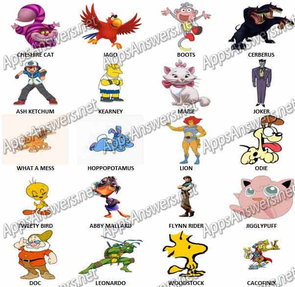 Cartoon-Quiz-Game-Answers-Level-241-260