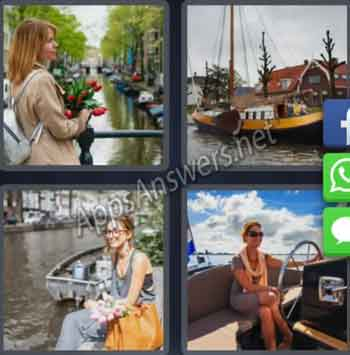 4-pics-1-word-daily-puzzle-23-11-2019-Answer-Amsterdam-Boat