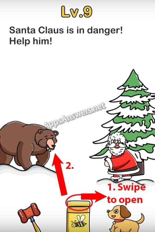 Brain-Out-Finding-Santa-level-9-Walkthrough