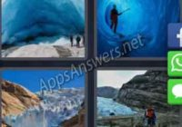 4-pics-1-word-daily-puzzle-23-Jan-2020-Answer-Norway-GLACIER
