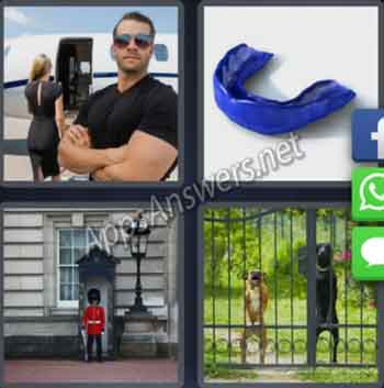 4-pics-1-word-daily-puzzle-27-Jan-2020-Answer-Norway-GUARD