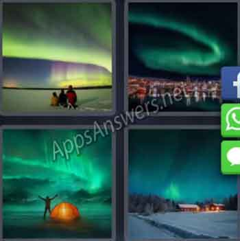 4-pics-1-word-daily-puzzle-31-Jan-2020-Answer-Norway-AURORA